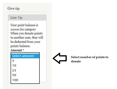 Drupal: Donate userpoints to node author | Drupal Developer