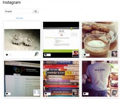 Drupal: Instagram integration   Drupal Developer